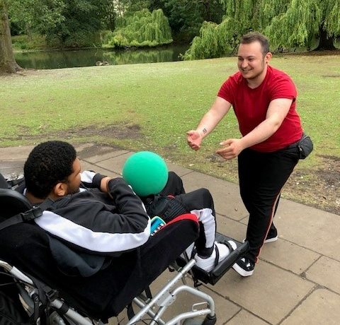 Zack's Story about becoming a Support Worker